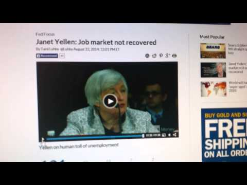 Janet Yellen Tells the TRUTH About The Jobs Market