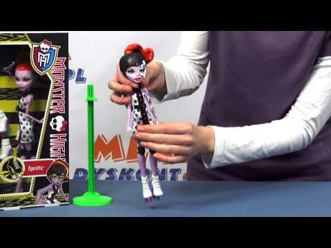 Operetta na rolkach - Monster High - www.MegaDyskont.pl - sklep z zabawkami