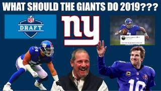 What Should the Giants Do in the 2019 Offseason???