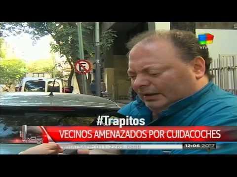 """Un vecino enfrentó a """"trapitos"""""""