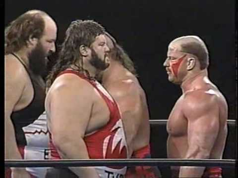 1991.12.12 SWS&WWF LOD VS Natural disasters①