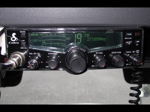 Big Rig Talk Cobra 29 LX LCD  CB Radio Unboxing