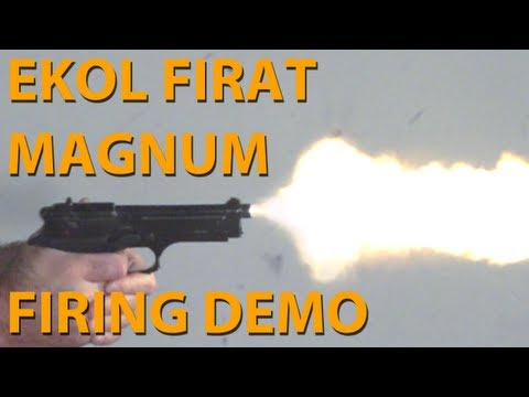 EKOL FIRAT MAGNUM - BLANK FIRING DEMONSTRATION