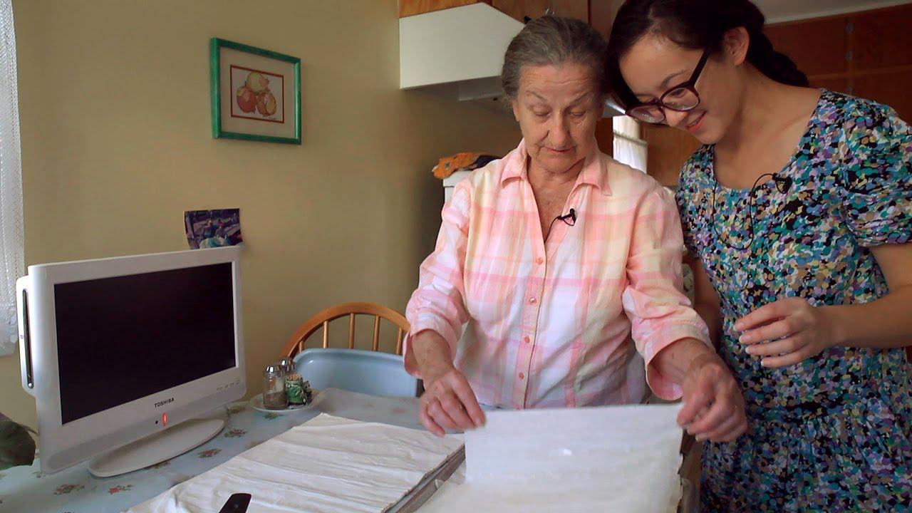 Making Banitsa (Spanakopita) with Baba Luba - Cooking with Grandma ...