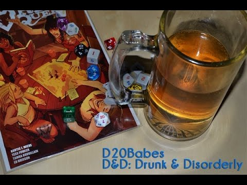 Drunk and Disorderly: WWE2016 with the D20Babes