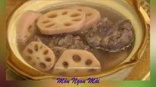 Uyen Thy's Cooking - Soup Đuôi Bò Củ Sen