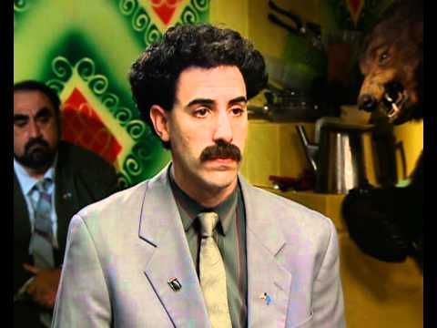 Borat (Sacha Baron Cohen) interview part 4