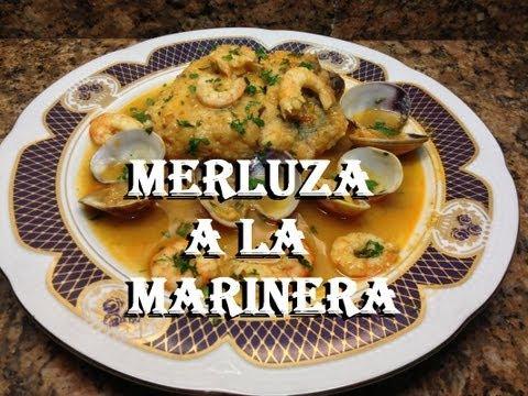 LOMOS DE MERLUZA  A LA MARINERA