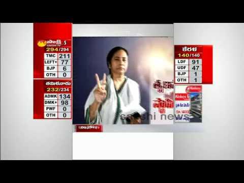 Mamata Banerjee win West Bengal - Watch Exclusive