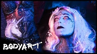 Harry Potter TIERWESEN Ganzkörper Painting || BODYPAINTING
