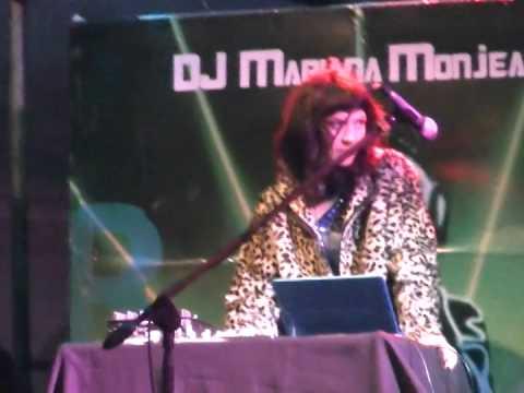 DJ MARIANA MONJAEAU AMENIZO LA ELECCION DELA REINA DE NECOCHEA 2015 CON SU MUSICA