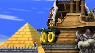 New Super Mario Bros Wii Walkthrough - Part 2 - World 2