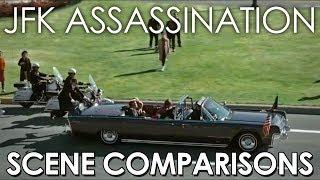 JFK Assassination   Zapruder, Orville, Jackie (2016), Watchmen (2009) - scene comparisons