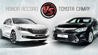 2hp: Toyota Camry Vs Honda Accord