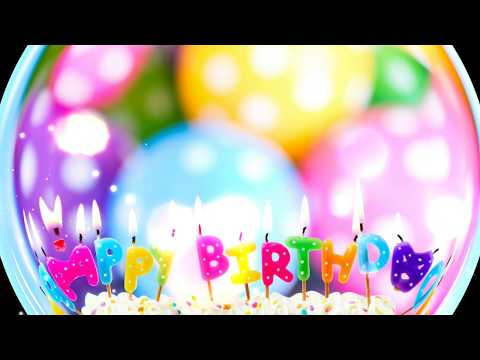 | Happy Birthday Video | May God Bless You | Birthday Song | Wishes, Greetings, SMS, eCard