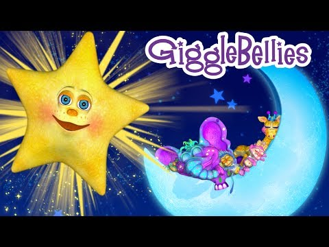 Twinkle Little Star | Children Nursery Rhymes with The GiggleBellies (Version 2)