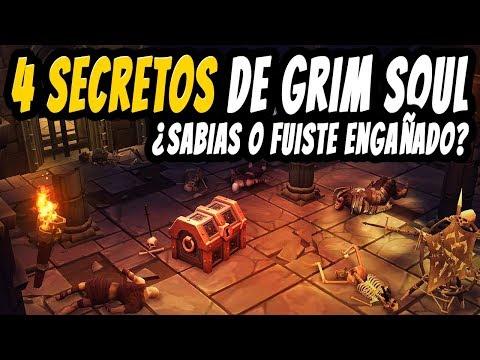 4 secretos ¿Sabias o fuiste engañado? | GRIM SOUL ESPAÑOL
