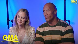 Dwayne 'The Rock' Johnson says his wedding was beautiful
