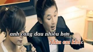 NƯỚC MẮT ĐỔI LẤY NỤ CƯỜI (Remix) - Ừ Yêu Em Full Karaoke