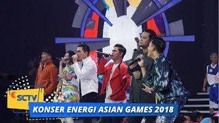 All Stars - Bright As The Sun | Konser Energi Asian Games