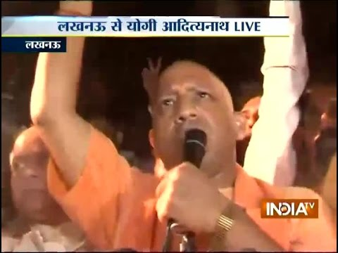 Yogi Adityanath defies ban to address rally in Lucknow