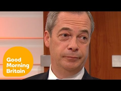 UKIP's Nigel Farage On The EU Vote And Mass Immigration | Good Morning Britain