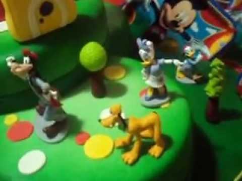 Reposteria Exquisita- Torta de Mickey Mouse Clubhouse
