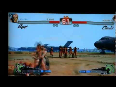 SSF4 Rambus(Sagat) vs Shadowlady(Chun-li) KZ Garden5 Thailand