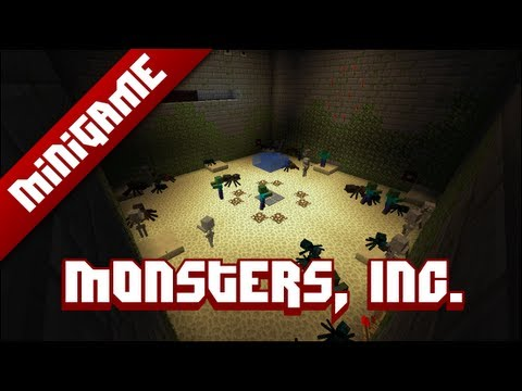 Minecraft Mini Game: Monsters, Inc.