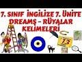 7. Sınıf İngilizce 7. Ünite Superstitions Kelimeleri ve Anlamları