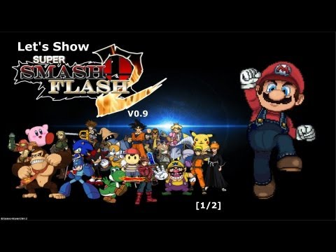Let's Show Super Smash Flash 2 Demo V0.9 [1/2]