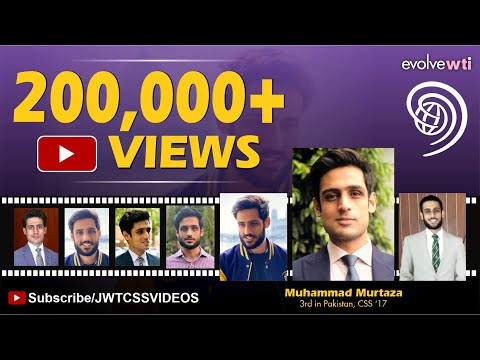 Muhammad Murtaza (3rd Position, PAS, CSS 2017)| SE 3,Ep 2| (Full Video)