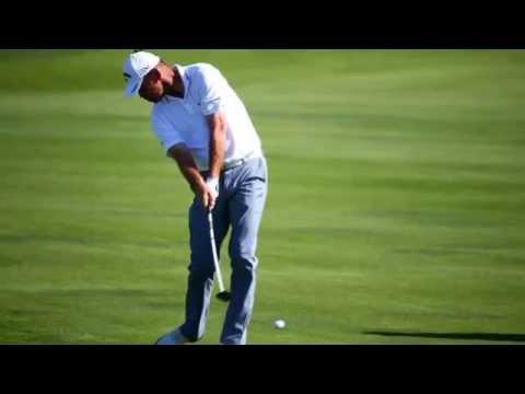 PGA Championship: Dustin Johnson leads, Tiger Woods F-bombs