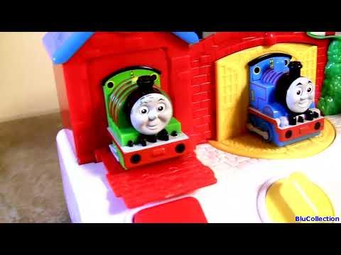 Thomas & Friends Musical Pop-up Pals Vs. Sesame Street Singing Pop-up Pals Vs. Minnie Mouse video