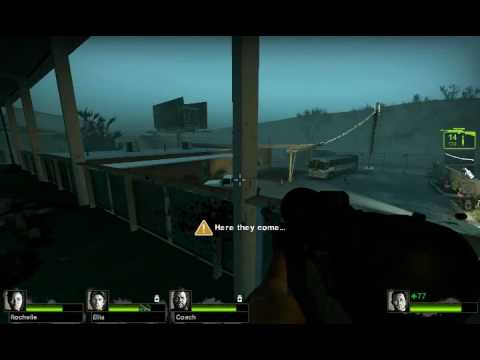 This is why I shoot cars in Left 4 Dead 2 Video