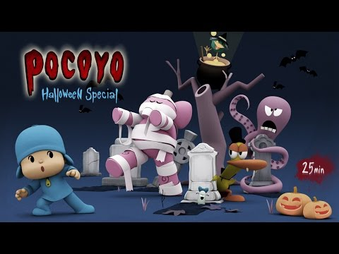 Pocoyo Halloween: Spooky Movies for Kids - 25 minutes of fun!