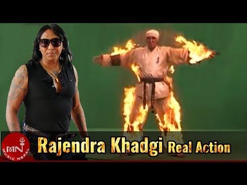 Rajendra Khadgis Real Action