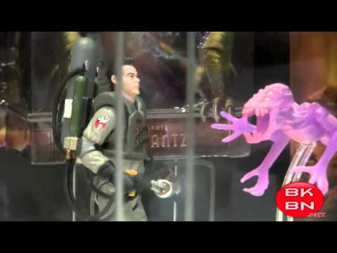 Ghostbusters Movie Masters, Retro Action & Replicas San Diego Comic-Con 2011 Display