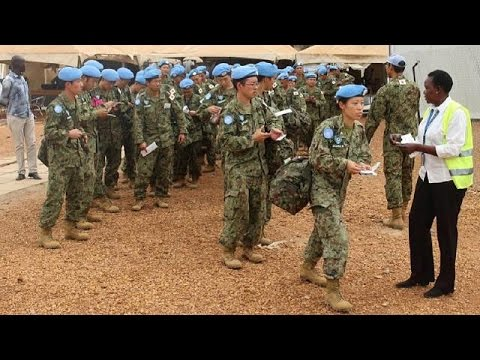 Japanese Troops Withdrawing From South Sudan Mission, UN Says