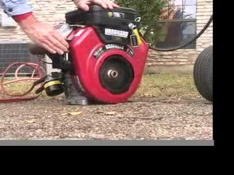 Briggs and Stratton 16 hp v twin YouTube