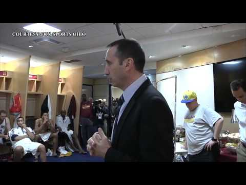 Coach David Blatt Postgame Speech: Cavaliers vs Maccabi - Preseason 2014
