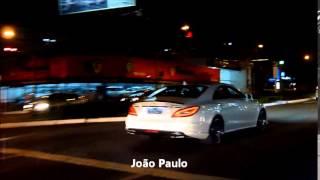 Mercedes CLS 63 AMG Branca Night on Street Goiânia