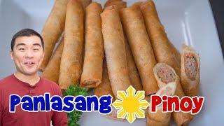 Panlasang Pinoy Lumpia Recipe Remake - Makeover of Oldest Lumpia Video