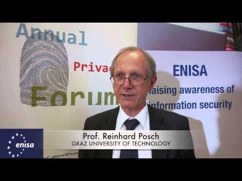 Annual Privacy Forum 2014   PROF  REINHARD POSCH