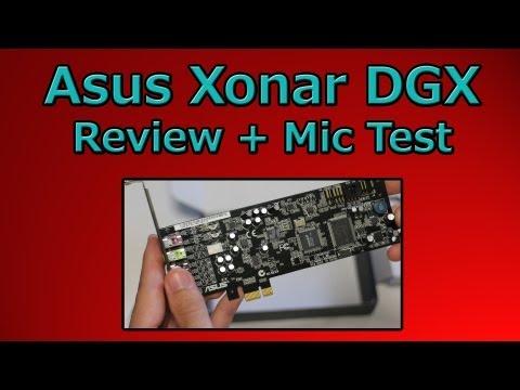Asus Xonar DGX Full Review + Microphone Test (Xonar DGX Vs Realtek 1150)