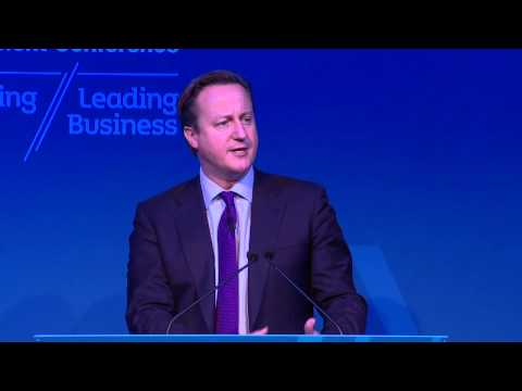 UK Prime Minister David Cameron - Keynote Speech at the Northern Ireland Investment Conference