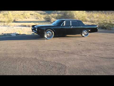 1964 custom lincoln continental bagged on 24 39 s how. Black Bedroom Furniture Sets. Home Design Ideas