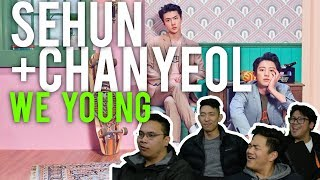 "CHANYEOL & SEHUN, ""WE YOUNG"" (MV Reaction)"