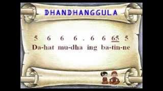 Dhandhanggula Laras Slendro Pathet Sanga