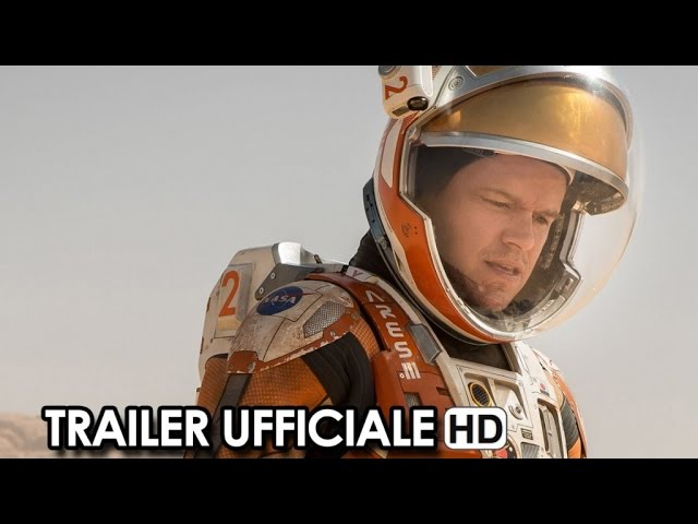 Sopravvissuto - The martian Trailer Ufficiale Italiano (2015) - Matt Damon Movie HD